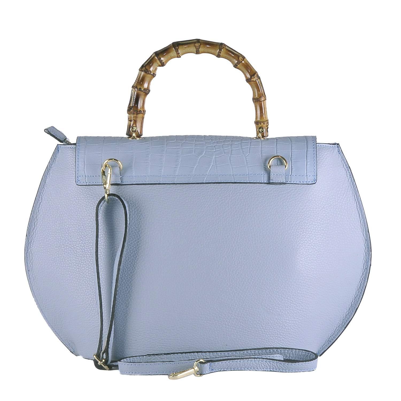 BORDERLINE - 100% Made in  - Starre Tasche Frau Frau Frau aus echtem Leder - GILDA B07PKVCLW4 Henkeltaschen c69efc