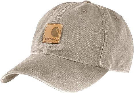 Carhartt Gorra Odessa Beige CH100289TAN Sombrero Baseball Cap ...