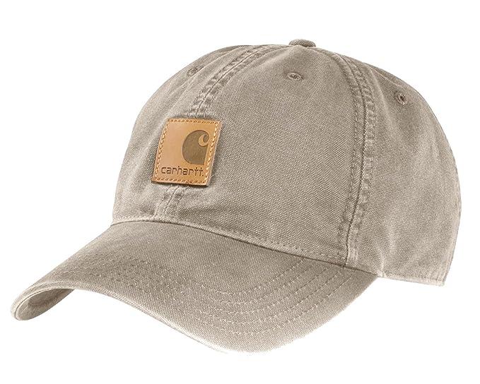Carhartt Gorra Odessa Beige CH100289TAN Sombrero Baseball Cap  Amazon.es   Ropa y accesorios 80f8719fd70