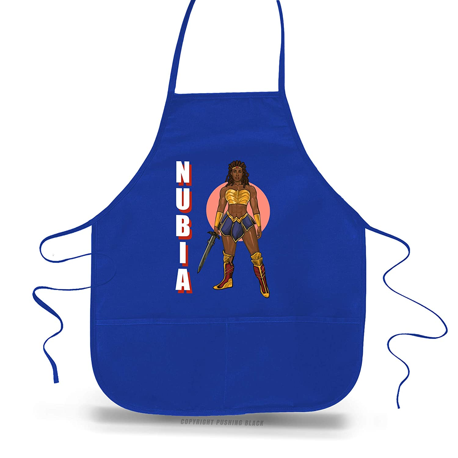 Aprons Nubia Sweatshirts Black Woman of Wonder T-Shirts Tank Tops Hoodies and More