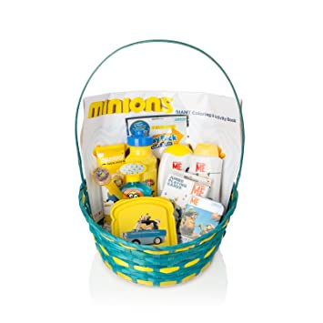 minions despicable me baby boys girls unisex easter gift basket 12 pcs