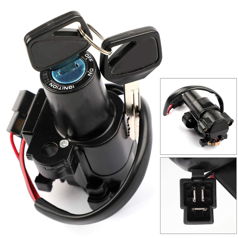 Amazon com: Artudatech Ignition Switch Lock Keys For Honda CBR250 11