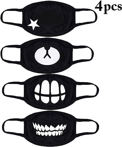 Korean Anti Dust Cotton Face Mouth Mask Protection Cute Kids Men Women Pack Lin