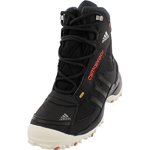 5f6c916090723b Amazon.com  Adidas Terrex Conrax Youth CW CP Winter Boot 5 Black-Chalk White -Bold Orange  Sports   Outdoors