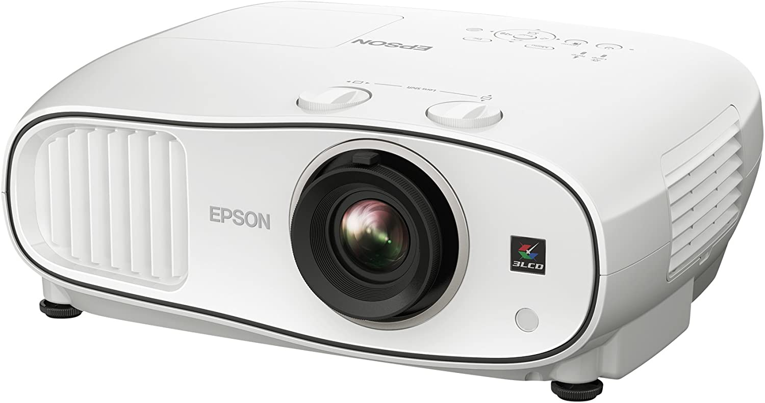 Epson Home Cinema 3700 1080p 3LCD Home Theater Projector (Renewed)