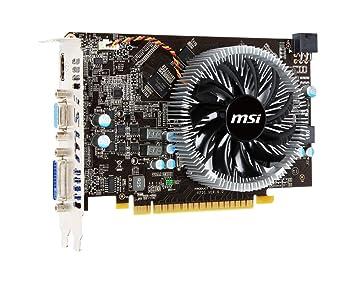 MSI N450GTS-MD1GD3 - Tarjeta gráfica DDR3 de 1 GB (128 bits ...