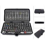 Würth universel Ensemble d'outils - 105 pièces Bit-Set en robuste Valise métallique 0614 250 300
