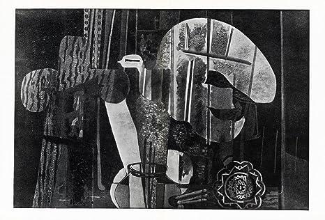Amazon.com: Art Catalogue-DLM 25-26-GEORGE BRACQUE-SOUS LA VERRIERE-Derriere le Miroir-1950: Prints: Posters & Prints