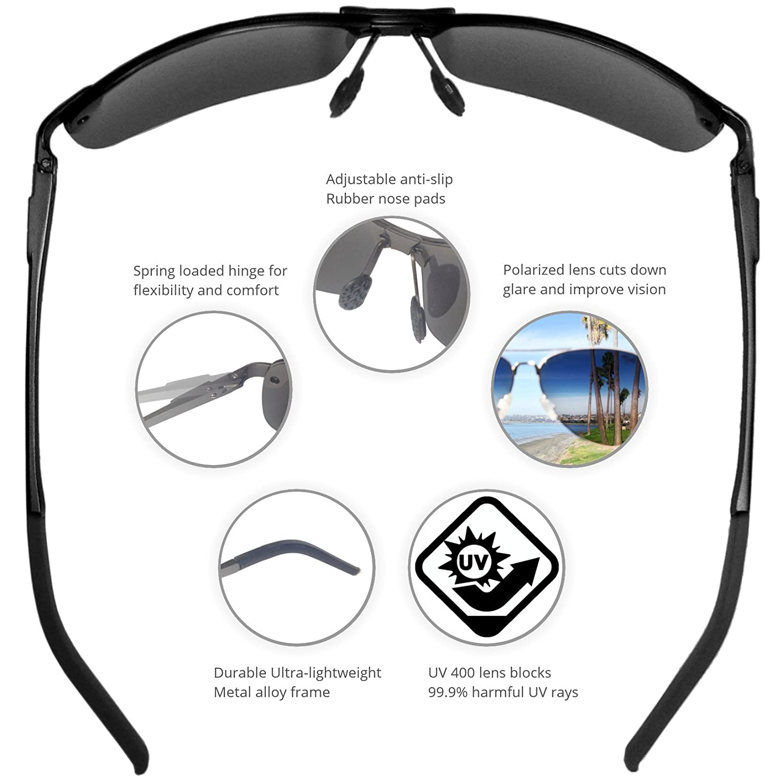 5ee07d798ae Amazon.com  J+S Ultra Lightweight Men s Rimless Sports Sunglasses ...