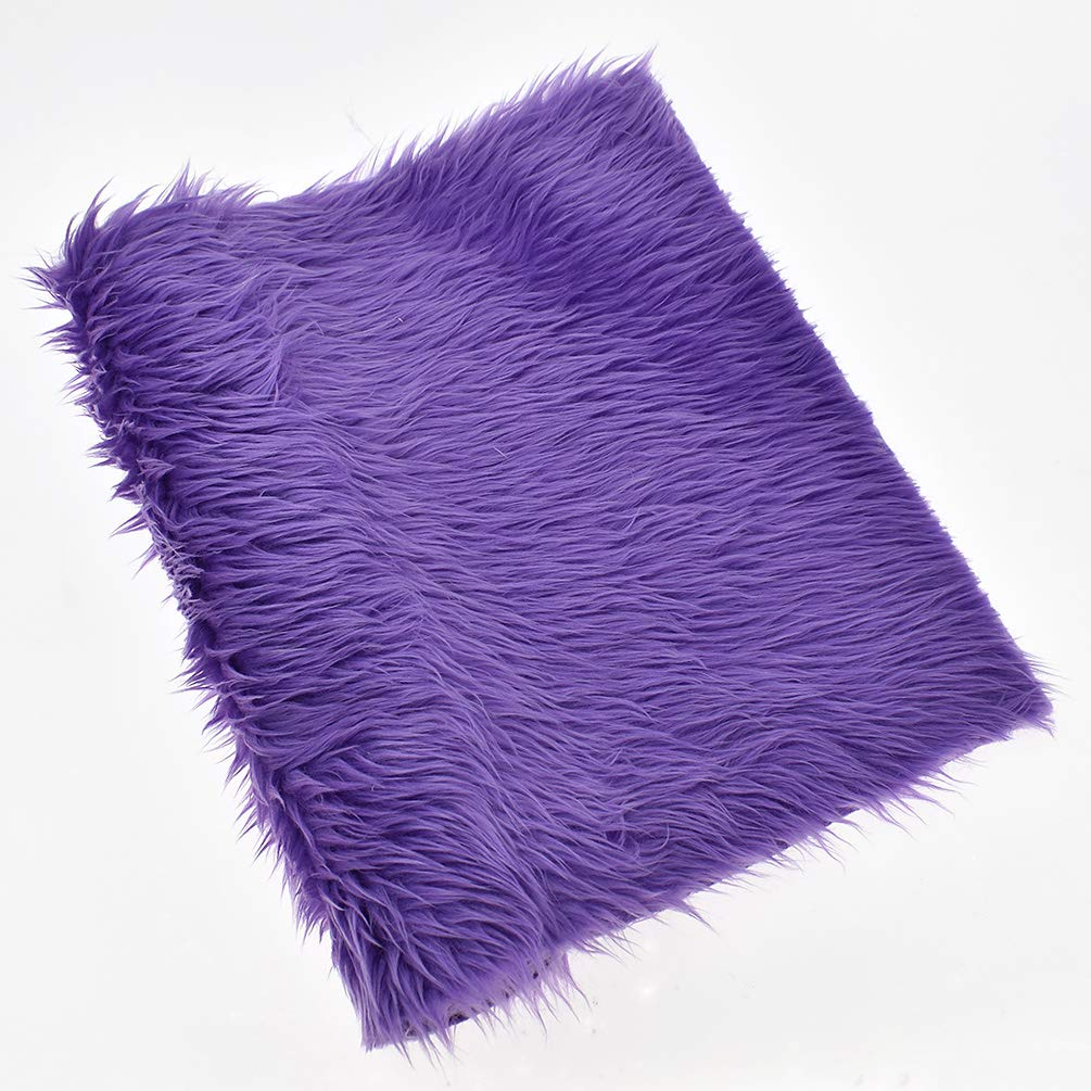 CHZIMADE A3 Immitation Fur Fabric Faux DIY Sheet Canvas Back Great for Hair Bows Making Craft