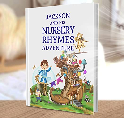 Personalised gift for baby and child a personalised book of personalised gift for baby and child a personalised book of nursery rhymes and modern poems negle Choice Image