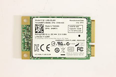 DELL h9r7 V lms-32l6 m PCIe mSATA SSD 32 GB Lite-On it Corp Disco ...