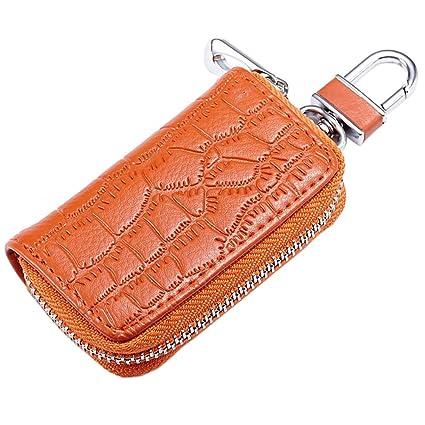 7268714ec115 YUSHHO56T Interior Decoration Key Holder Fashion Crocodile Embossed ...