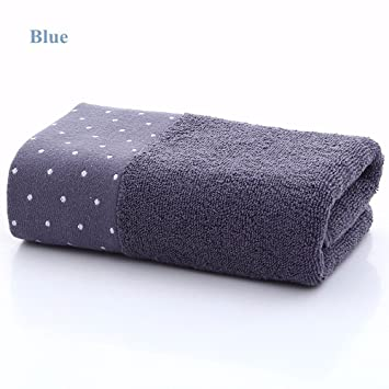 Toalla de algodón suave (paquete de 2) absorbente Toalla de lavado de color Toalla