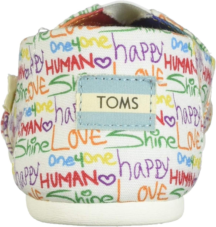 TOMS Alpargata Leather W Scarpa Tela Con Stampa Multi Unità