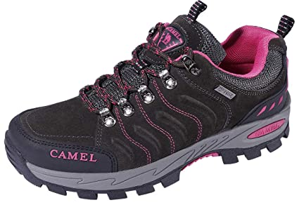 5bf2374a9f6a5 CAMEL CROWN Hiking Shoes for Women Breathable Trail Running Backpacking  Walking Shoes Slip Resistant Sneakers Lightweight Athletic Trekking Low Top  ...