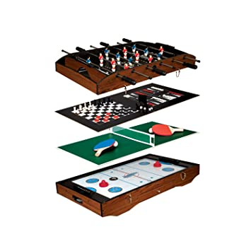 Superb Franklin Sports 6 In 1 Table Top Game Center