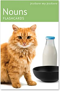 Picture My Picture Nouns Flash Cards | 200 Language Photo Cards | Speech Therapy Materials and ESL Materials