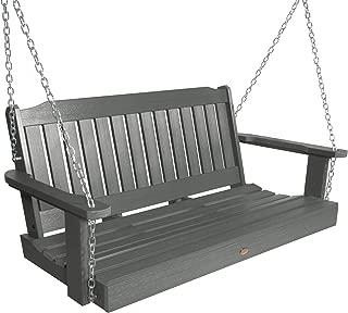 product image for Highwood AD-PORL2-CGE Lehigh Porch Swing, 4 Feet, Coastal Teak
