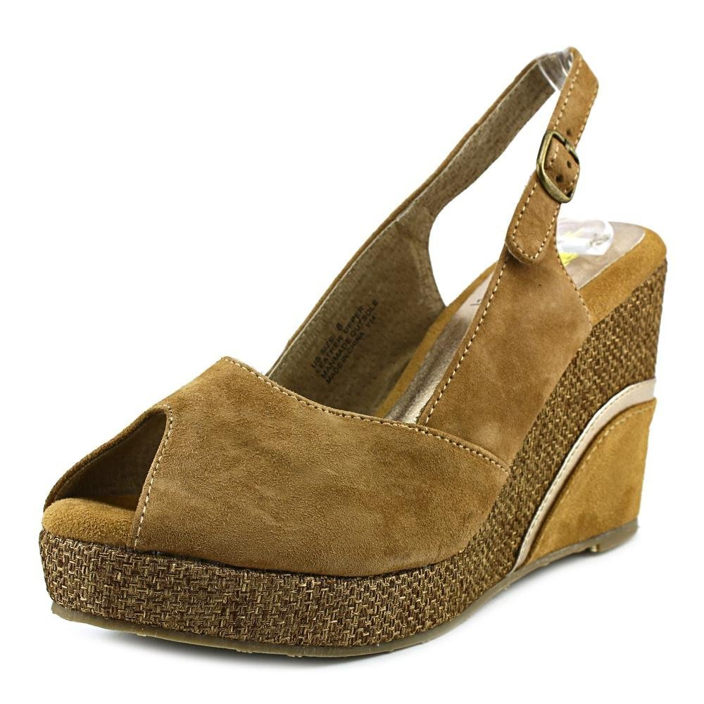 Very Volatile Highland Women's Wedge Sandals B00PCPCSW6 9 B(M) US|Tan