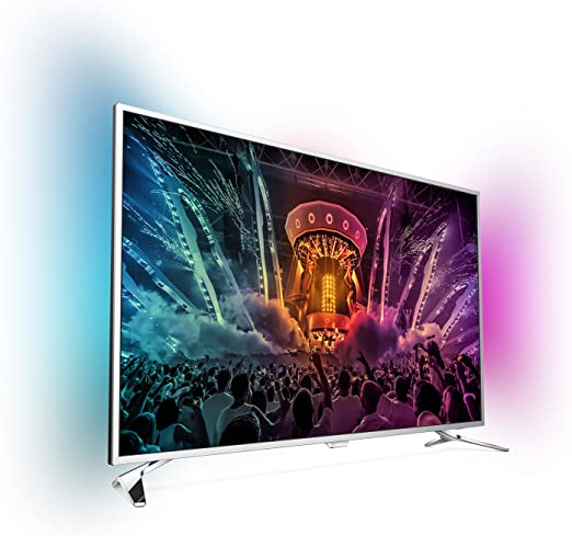 Philips - Tv led 49 49pus6501/12 uhd 4k, ambilight, wi-fi y smart tv android: Amazon.es: Electrónica
