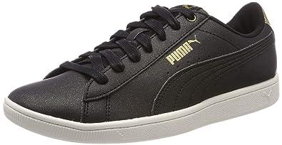 ea65ce29f7 Puma Vikky LX, Sneakers Basses Femme, Noir Black-Whisper White 02, 37.5