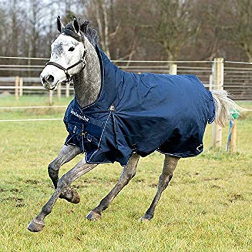 No Fill 72 IN No Fill 72 IN Horze 1200D Peacoat Dark bluee Avalanche Blanket- Rain Fleece, Mid Season or Winter Blanket