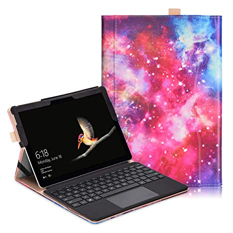 Microsoft Surface Go Funda - Premium PU Cuero Funda Carcasa con Función de Soporte para Microsoft Surface Go: Amazon.es: Electrónica