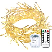 ECOWHO 200 LED Waterproof Dimmable String Fairy Lights