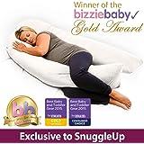 PregnancyPillows.Net (TM) U-Shape Body Support Pregnancy Pillow & Maternity Pillow White