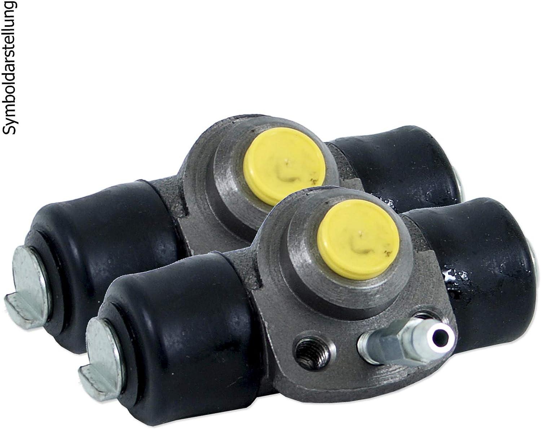 2 Bremstrommeln Trommelbremse Bremsbackensatz Bremsbacken 2 Radbremszylinder Hinten Hinterachse