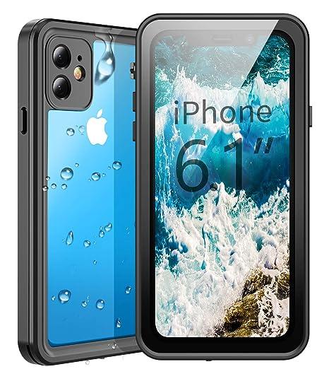Amazon.com: Temdan Funda impermeable para iPhone 11, 360 ...