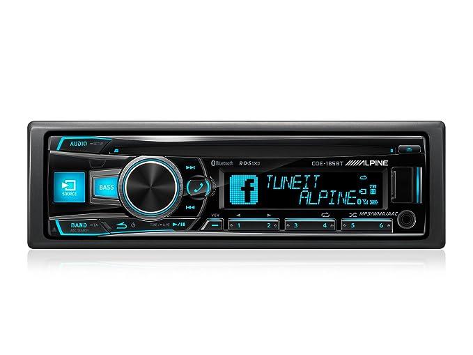 Alpine cde 185bt autoradio stereo: amazon.de: elektronik