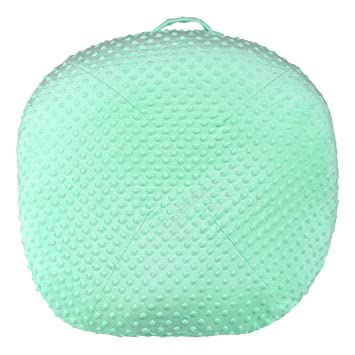 Nargar Super Soft Premium Minky Dot Water Resistant Baby Lounger Cover Removable Slipcover for Newborn Lounger Ultra Comfortable Safe Fabric for Babies Green