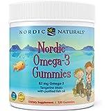 Nordic Naturals Nordic Omega-3 Gummies, Tangerine - 120 Gummies - 83 mg Total Omega-3s with EPA & DHA - Non-GMO - 60…