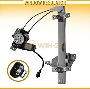 2pcs Front Left+Right Side Window Regulator w// Motor For Century Regal Intrigue