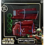 Star Wars Boba Fett Gauntlet Blasters Disney Parks Authentic