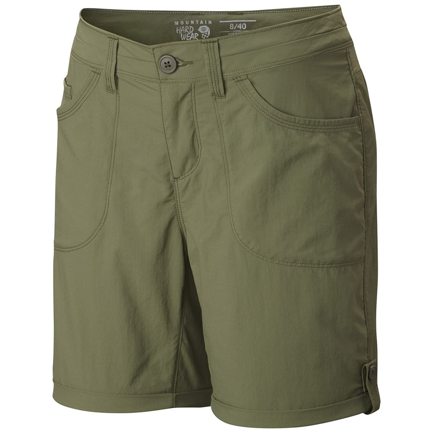 Mountain Hardwear Women's Mirada Shorts 4, Mosstone