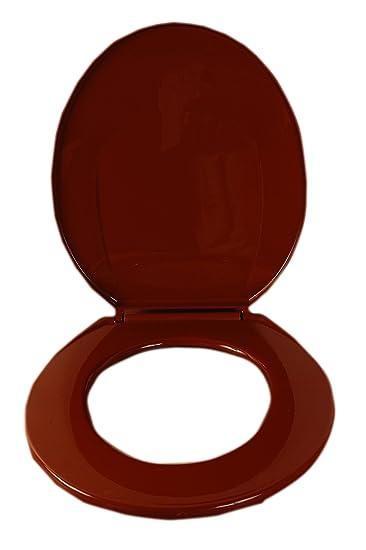 burgundy toilet seat cover. Star Flush Burgundy Toilet Seat Cover Amazon.in