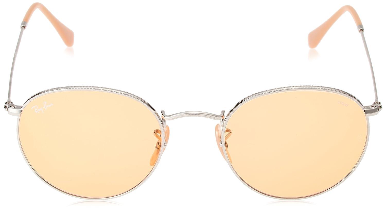 Ray-Ban 9065V9 Gafas de sol, Silver, 53 para Hombre: Amazon ...