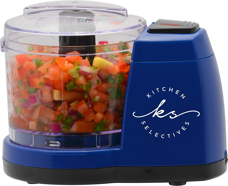 Kitchen Selectives Cobalt Blue 1½ Cup Mini Chopper