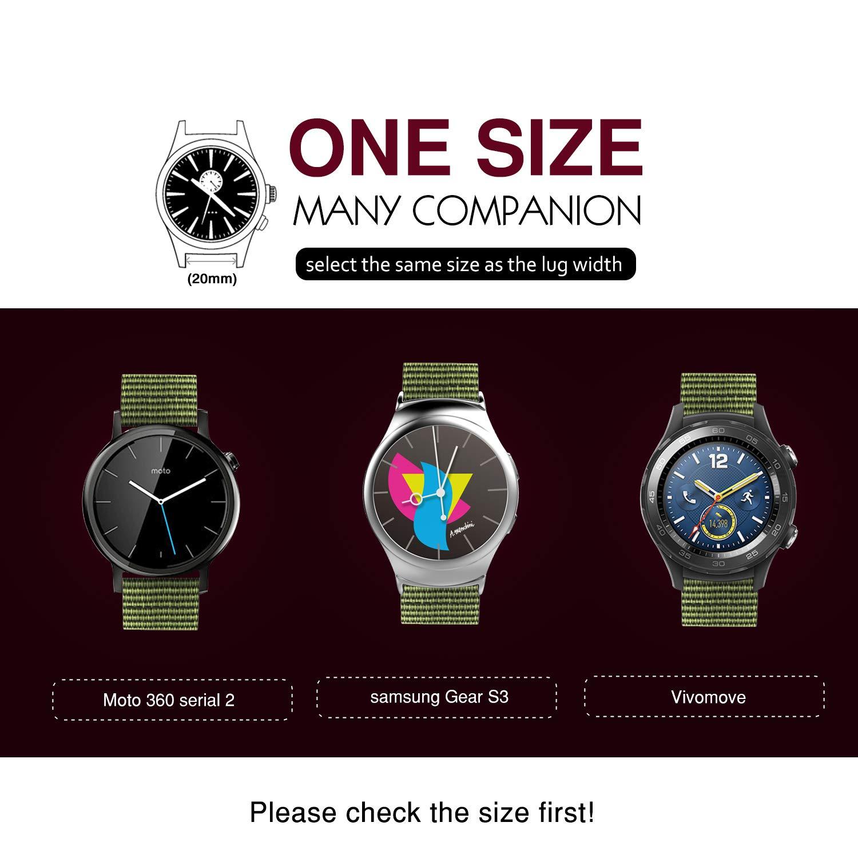 Amazon.com: MoKo - Correa de repuesto para reloj Samsung ...
