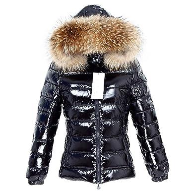 the best attitude 6c7a2 61476 Lea Marie Damen Daunenjacke XXL Kragen aus 100% ECHTPELZ ECHTFELL Jacke