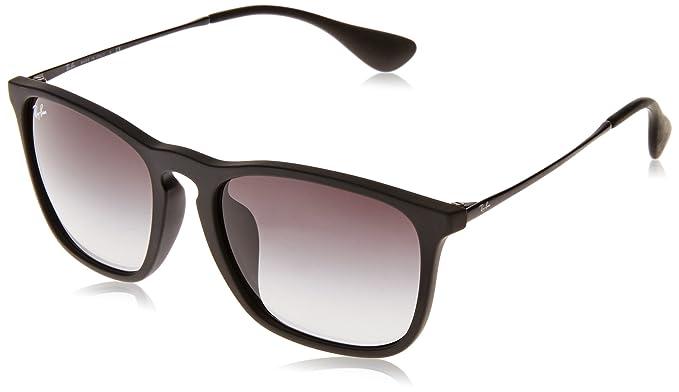 b95bacf7f3 Amazon.com  Ray-Ban Men s Chris (f) Square Sunglasses