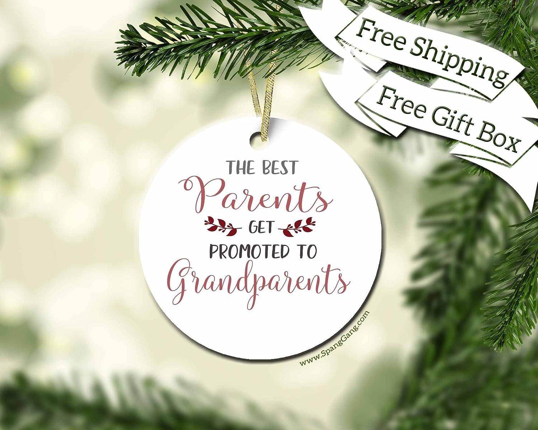 Amazon.com: New Grandparent Gift, Pregnancy Announcement, Pregnancy ...