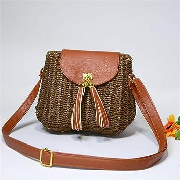 954c28a1a6dc BOBOMIMI Bohemian Rattan Straw Bags Crossbody Bag For Women Small ...
