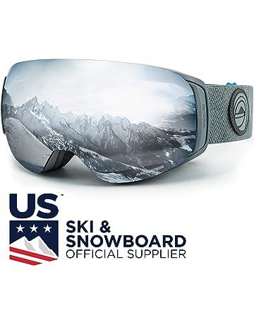 95b9b27b7414 WildHorn Outfitters Roca Ski Goggles   Snowboard Goggles- Premium Snow  Goggles for Men