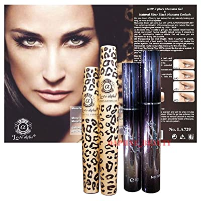 3D Fiber Lashes Love Alpha 2 Mascara Sets