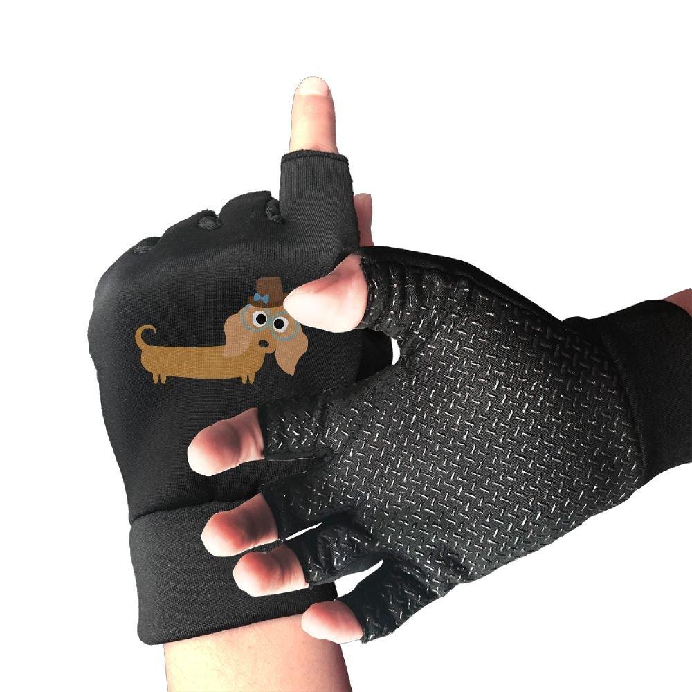 Amazon.com   Semi-Finger Fitness Cycling Black Vinyl Record Half Finger Bike  Bicycle Sports Anti-slip Gloves For Men Women   Sports   Outdoors d93544f3b