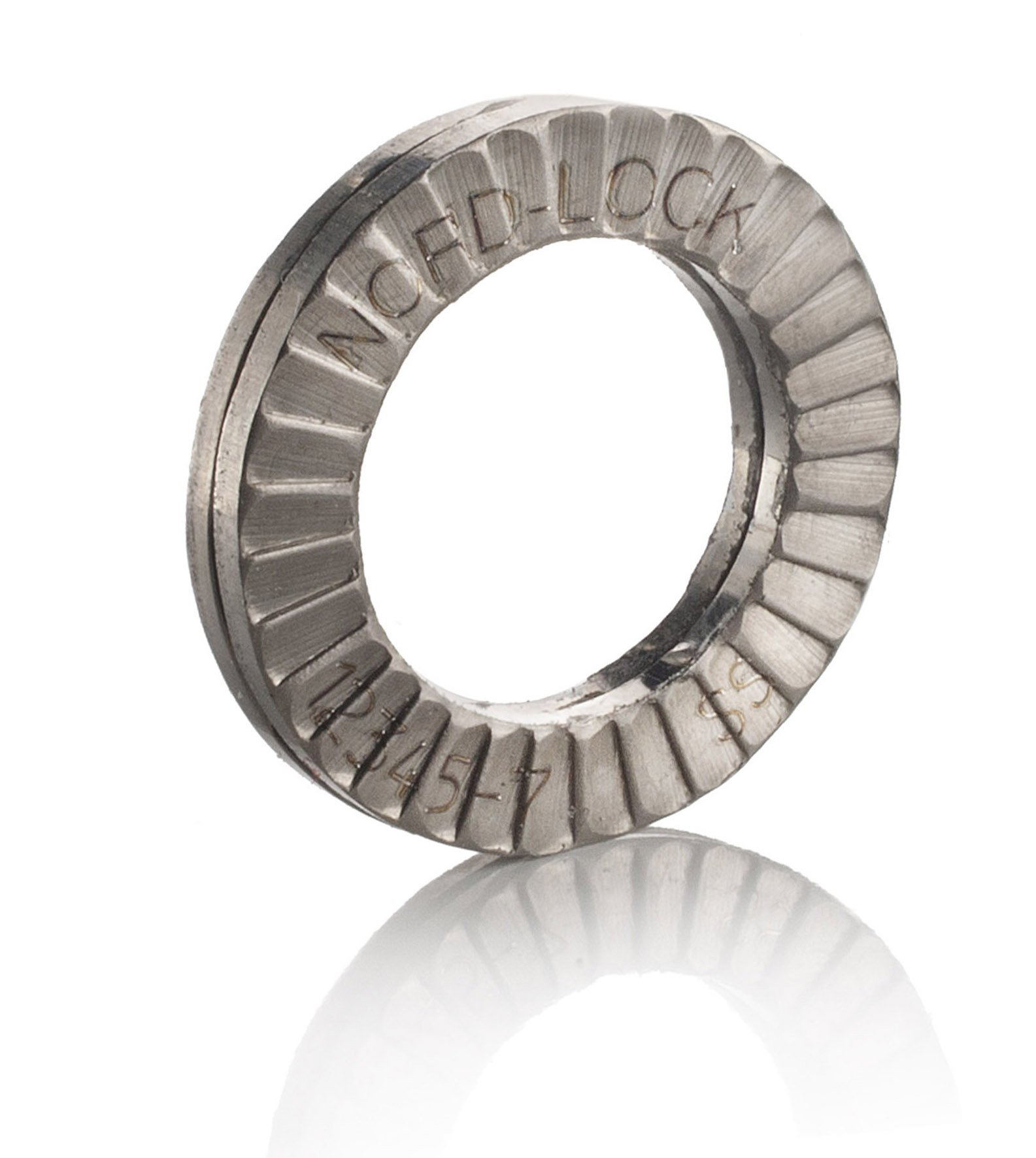 Nord-Lock Wedge locking washer Stainless Steel M6 200 glued pairs/box by Nord-Lock (Image #1)